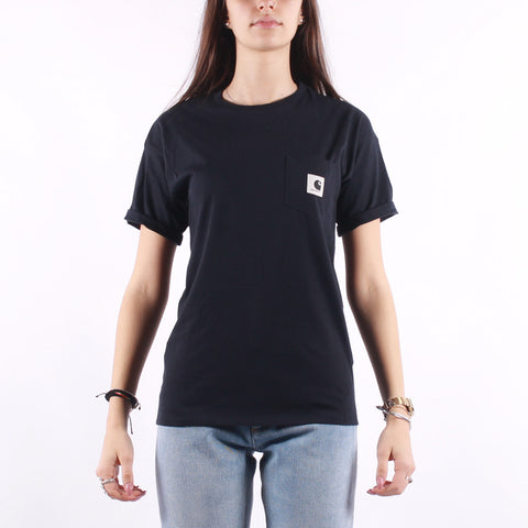 Carhartt - W SS Carrie Pocket T-Shirt - Dark Navy