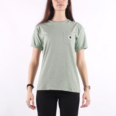 Carhartt - W SS Carrie Pocket T-Shirt - Frosted Green
