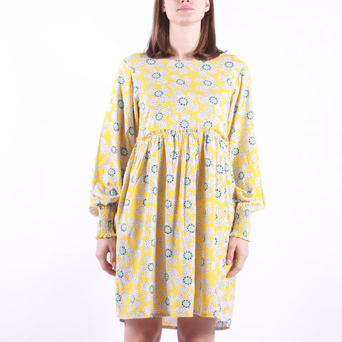Compania Fantastica - Woman Dress - Yellow Floral