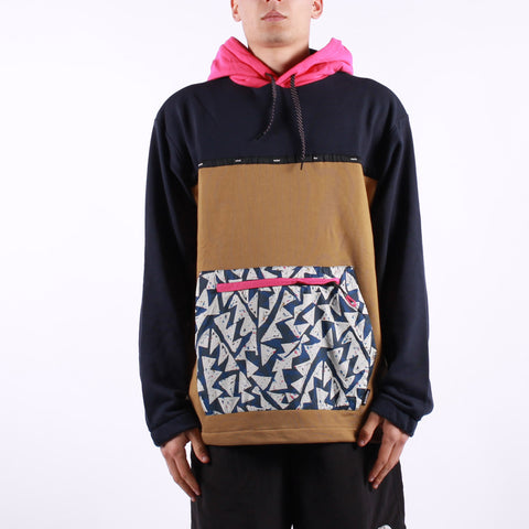 Element - Shasta PO Hoodie - 4623 Navy Fuxia Red