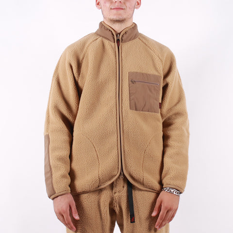 Gramicci - Boa Fleece Jacket - Beige