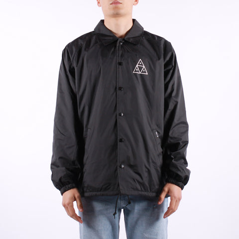 HUF - Essential TT Coaches Jacket - Black