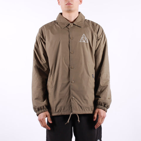 HUF - Essential TT Coaches Jacket - Stone