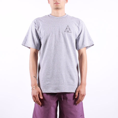 HUF - Essential TT SS Tee - Grey Heather