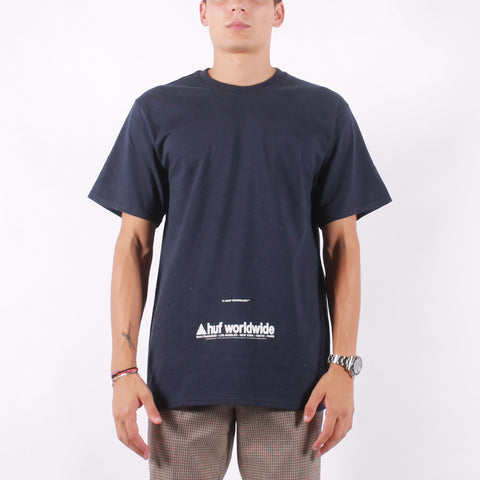 HUF - Taking Control SS Tee - French Navy