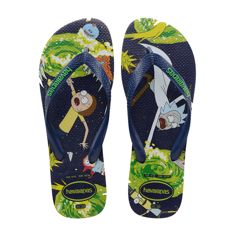 Havaianas - Top Rick and Morty - Navy Blue