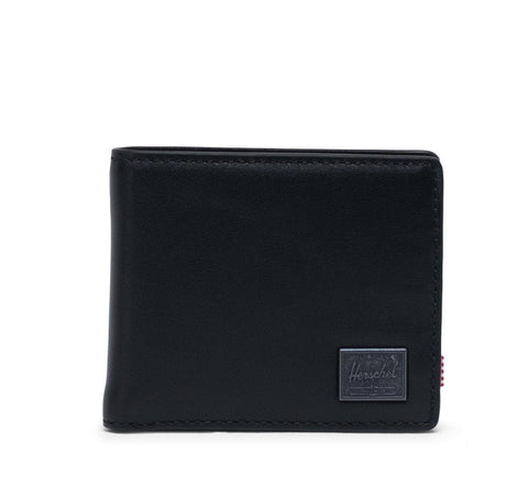 Herschel - Hank Coin Leather RFID - Black