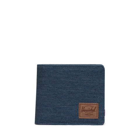 Herschel - Roy Coin RFID - Indigo Denim Crosshatch