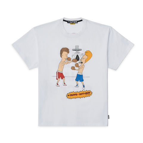 Iuter - B&B Knockout Tee - White