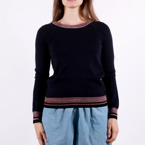 Maison Scotch - Maison Crew Neck - Navy