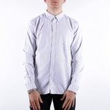 Minimum - Jay 2.0 Ls Shirt - White