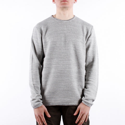 Minimum - Reiswood Jumper - Light Grey Melange