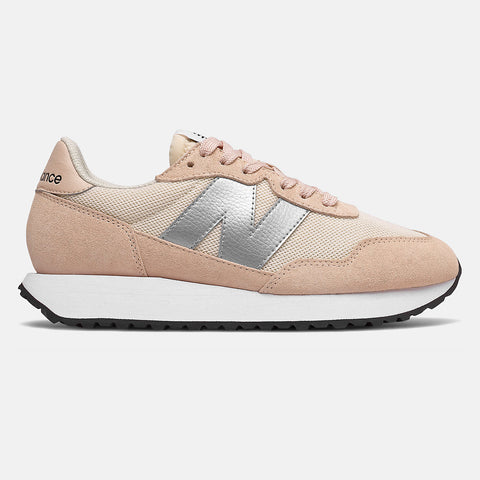 New Balance - Scarpa Donna 237 - Rose Water with Silver Metallic