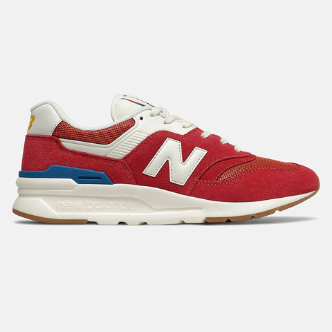 New Balance - Scarpa Uomo 997 H - Team Red with Varsity Gold