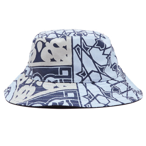 Obey - Bandana Bucket Hat - Navy Bandana Black