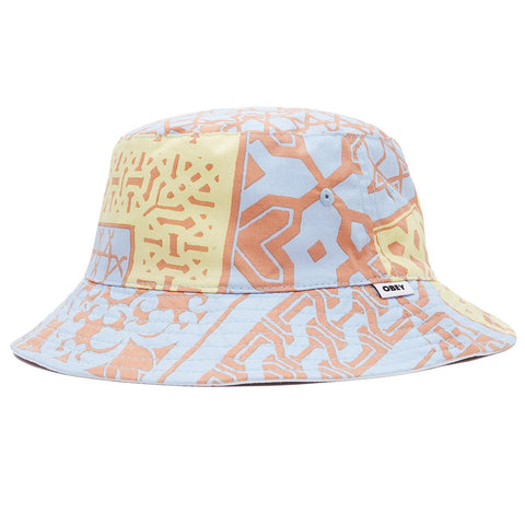 Obey - Bandana Bucket Hat - Orange Bandana White