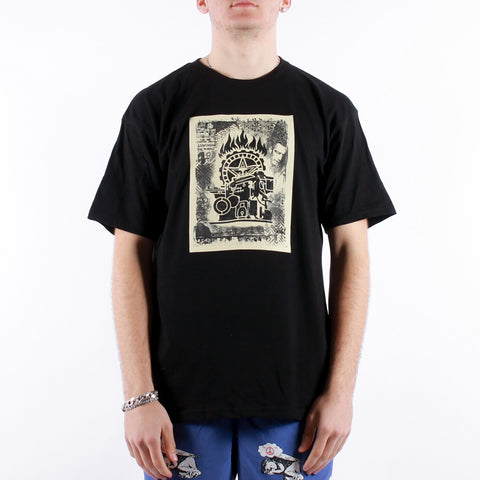 Obey - Obey Press Etching Tee - Black