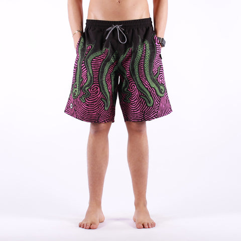 Octopus - Octopus Fingerz Boardshort - Fingerz Black