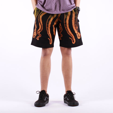 Octopus - Octopus Gradient Sweatshort - Black