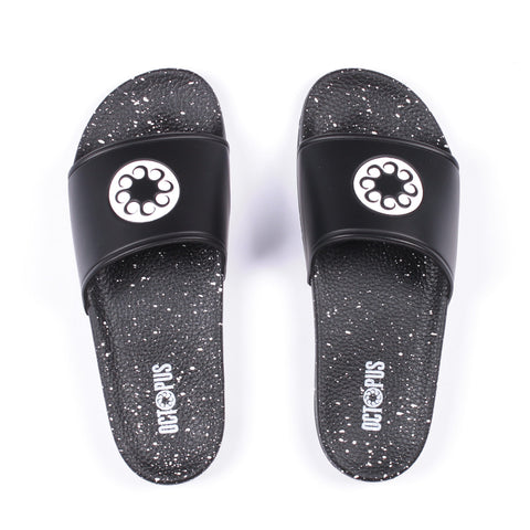 Octopus - Octopus Spotted Sandals - Black