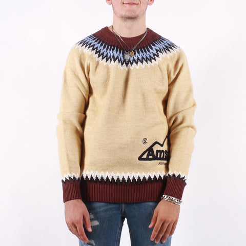 Scotch and Soda - Man Jumper - 0217 Ivory Mult