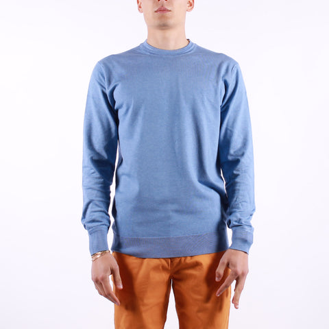 Scotch and Soda - Man LS Crew Neck - 4206 Blue Sky