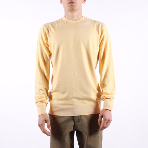 Scotch and Soda - Man LS Crew Neck - 4212 Soft Yellow