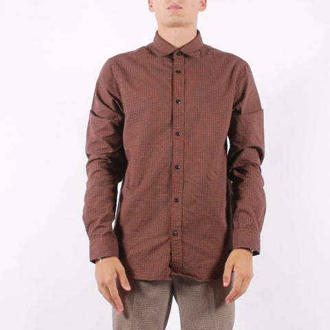 Scotch and Soda - Man Shirt - 0217 Multi Burgundy