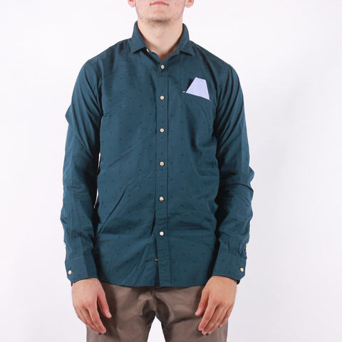 Scotch and Soda - Man Shirt - 0218 Dark Green