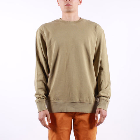 Selected - Luis Crew Neck Sweat - Aloe