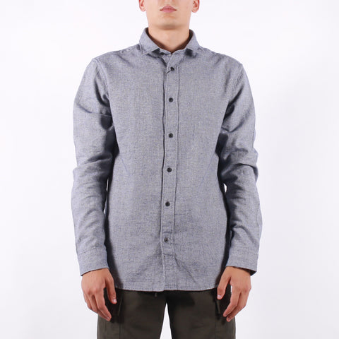 Selected - Reg Gunnar Shirt - Navy Structure