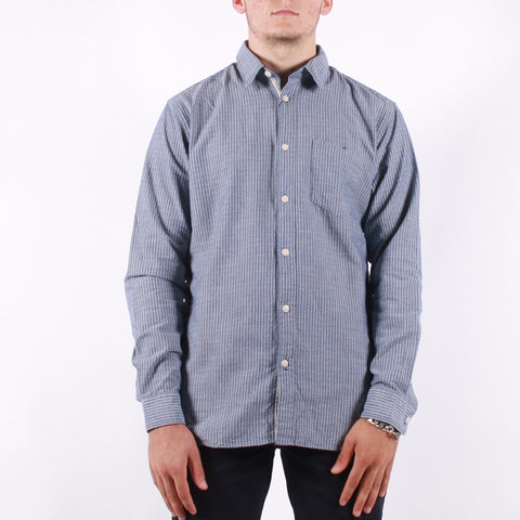 Selected - Slim Kayden Shirt - Estate Blue Stripes