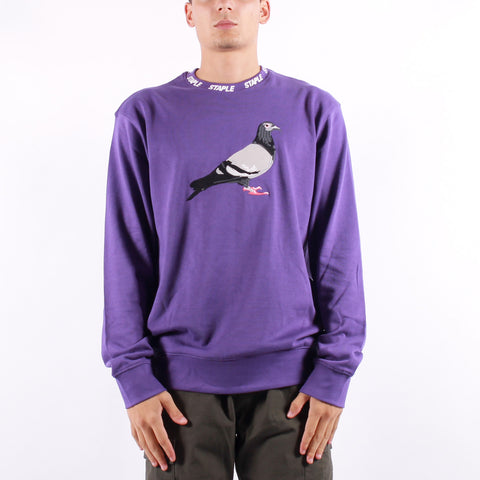 Staple - Pigeon Crew Neck - Purple
