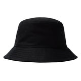 Stussy - Big Logo Twill Bucket Hat - Black