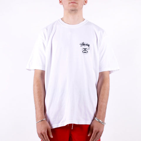 Stussy - Stock Link Tee - White