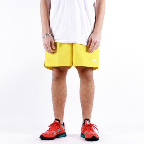 Stussy - Stock Water Short - Yellow