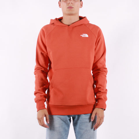 The North Face - M Raglan Red Box Hoodie - Burnt Ochre