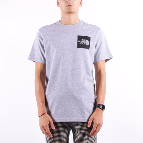 The North Face - M SS Fine Tee - Heather Grey