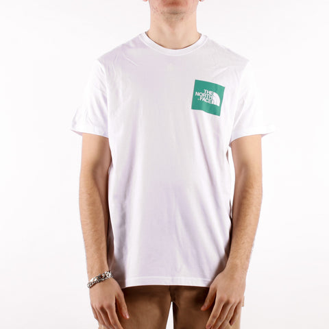 The North Face - M SS Fine Tee - Tnf White Lagoon