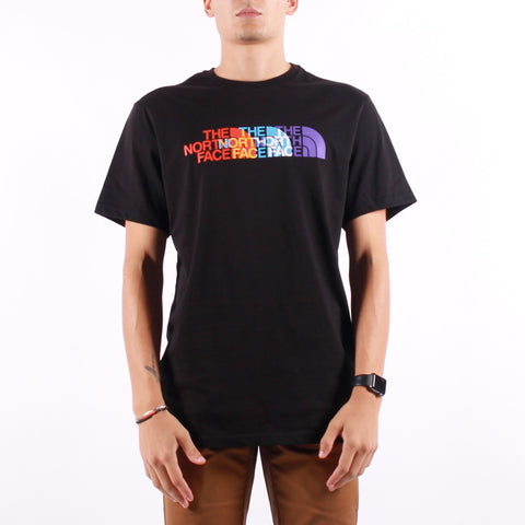 The North Face - M SS RGB Prism Tee - TNF Black