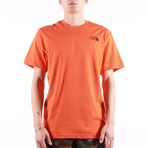 The North Face - M SS Red Box Tee - Flame