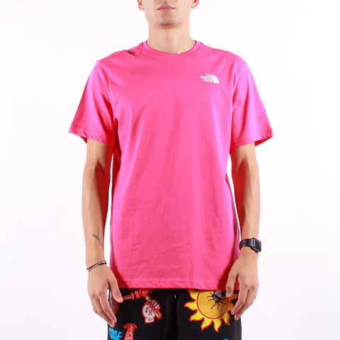 The North Face - M SS Red Box Tee - Mr Pink