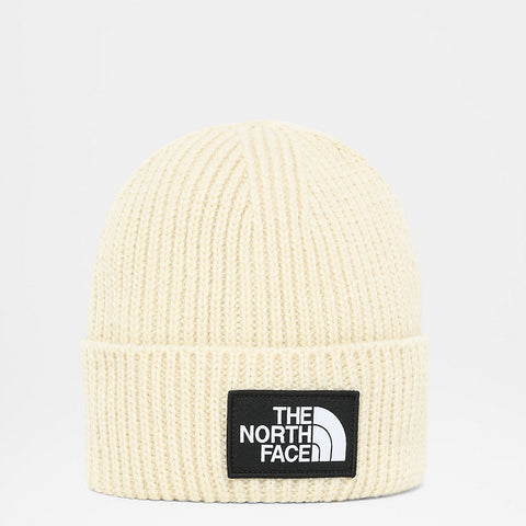 The North Face - TNF Logo Box Cuf Beanie - Bleached Sand