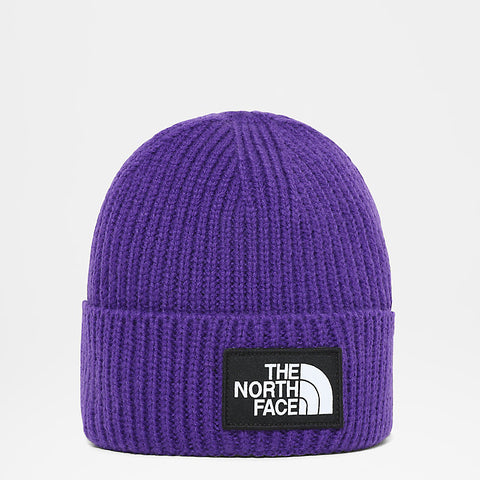 The North Face - TNF Logo Box Cuf Beanie - Peak Purple