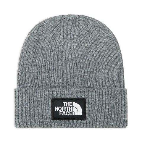 The North Face - TNF Logo Box Cuf Beanie - Tnf Medium Grey Heather