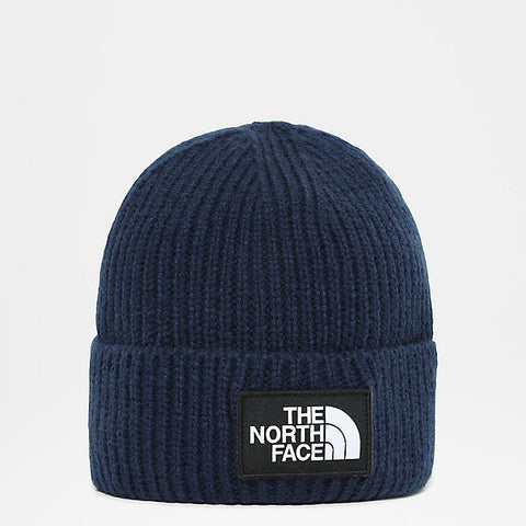 The North Face - TNF Logo Box Cuf Beanie - Tnf Navy