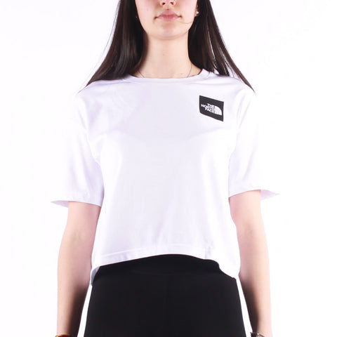 The North Face - W Cropped Fine Tee - Tnf White