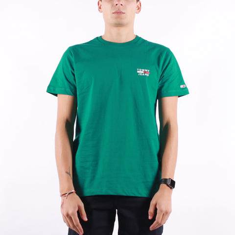 Tommy Jeans - Chest Logo Tee - Midwest Green