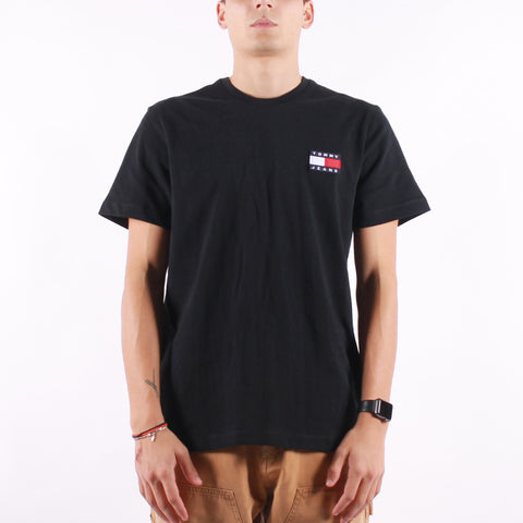 Tommy Jeans - Tommy Badge Tee - Black