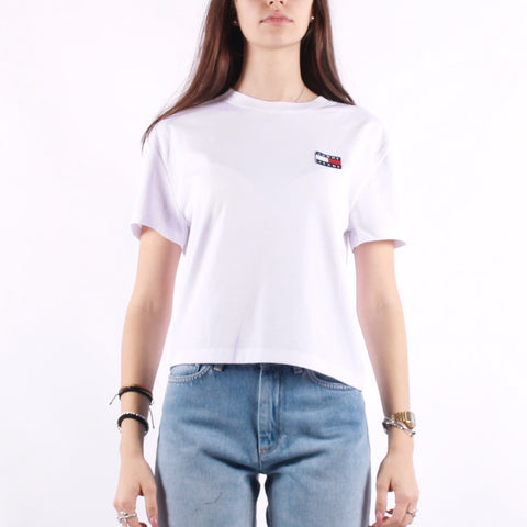 Tommy Jeans - Tommy Badge Tee - White